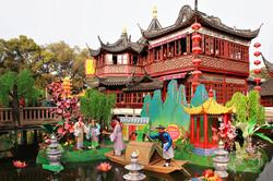 Old Tea House in Yuan Garden