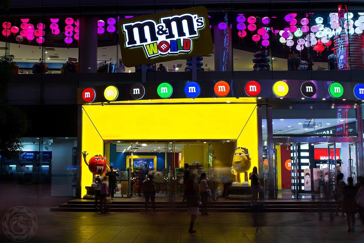 Nanjing Road, M&M Store
