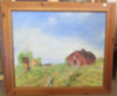 Farmhouse Painting