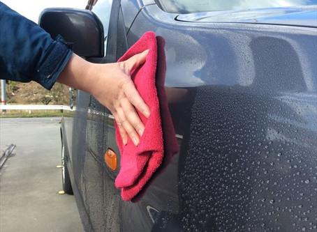 洗車にまつわるエトセトラ