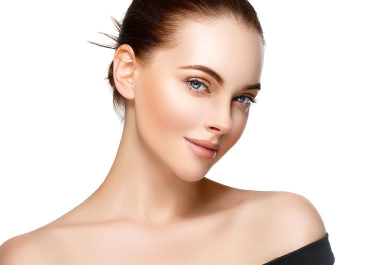Beauty Woman face Portrait. Beautiful mo