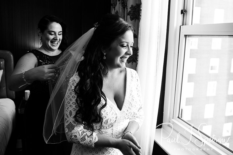 Graduate Providence Wedding Photography, Bridal Prep Photos