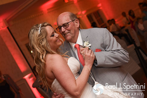Michelle and her grandfather dance during her May 2016 wedding at Hillside Country Club in Rehoboth, Massachusetts.