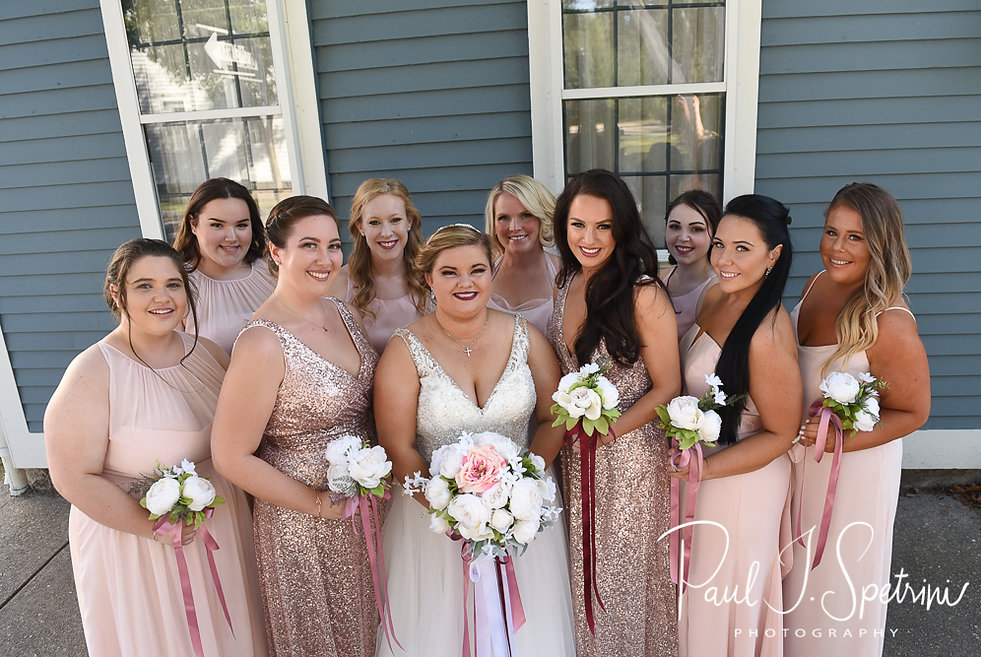 Downtown Wickford North Kingstown Wedding Photography, Bridal Portraits