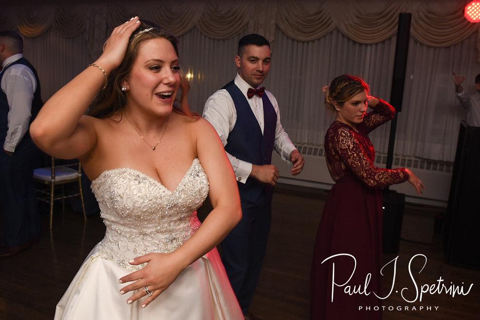 Pawtucket Country Club wedding reception