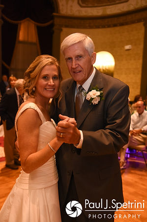 Tricia and her father dance during her October 2017 wedding reception at the Providence Biltmore in Providence, Rhode Island.
