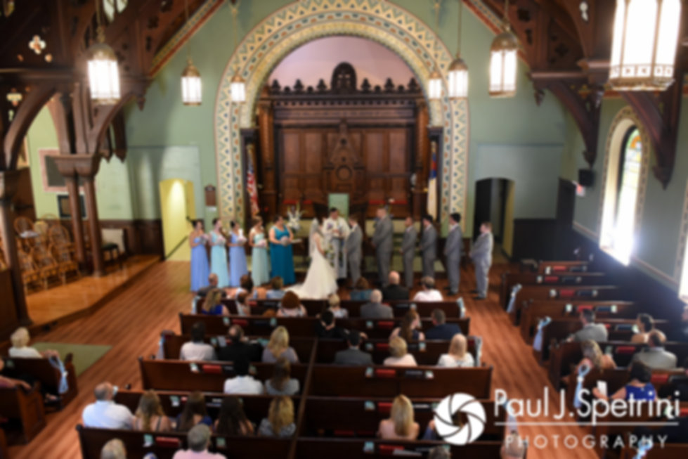 A look at Neil and Gianna's July 2017 wedding ceremony at Peace Dale Congregational Church in South Kingstown, Rhode Island.