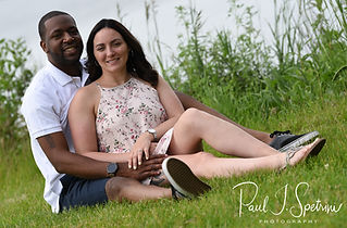 A teaser image for Amanda & Terrance's engagement session blog.