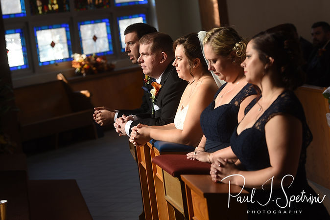 St. Mary's Catholic Church Norton Massachusetts Wedding Photography, Wedding Ceremony Photos