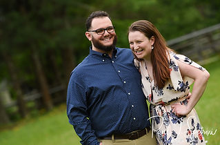 A teaser image for Rob & Allie's engagement photo blog.