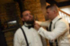 Rhode Island groom prep photos