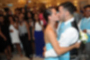 Jean Andrade's son dances with his new fiancee.