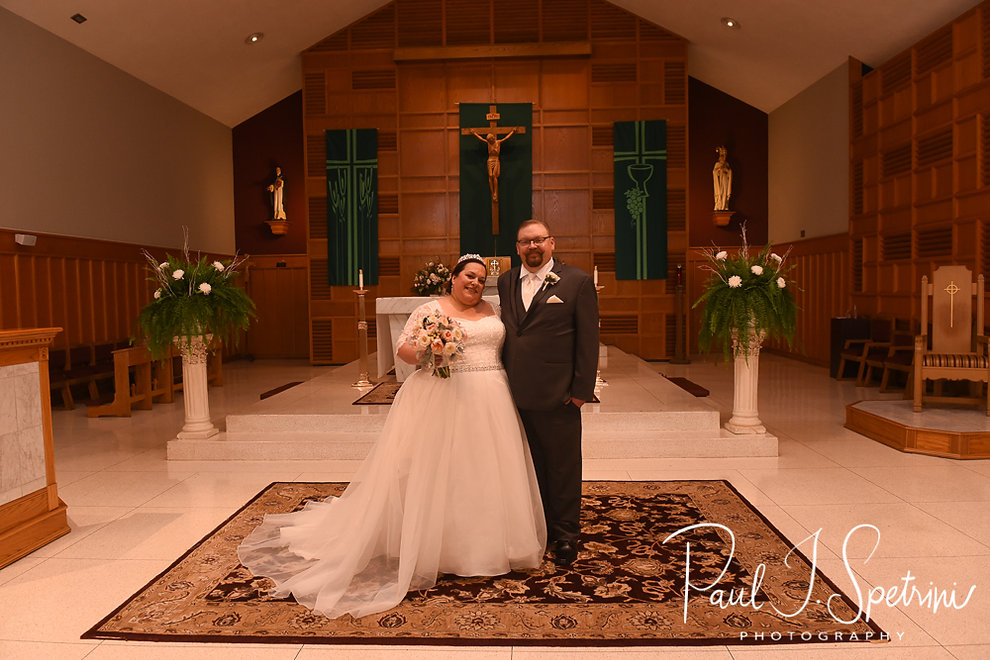Saints Rose & Clement Parish Wedding Photography, Bride and Groom Formal Photos