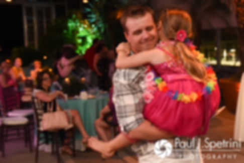 Will dances with his stepdaughter during his May 2017 wedding reception at the Roger Williams Park Botanical Center in Providence, Rhode Island.