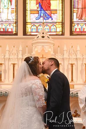 St. Brendan Parish Bellingham Massachusetts Wedding Photography, Wedding Ceremony Photos