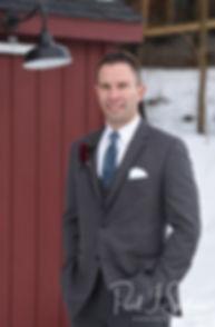 Kurt poses for a portrait prior to his November 2018 wedding ceremony at the Publick House Historic Inn in Sturbridge, Massachusetts.