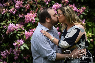 A teaser image for Sarah & Anthony's engagement photo blog.