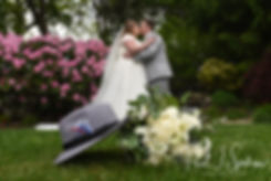 Kirkbrae Country Club bride and groom fo