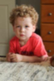 A portrait of Jamie Bolani's nephew.