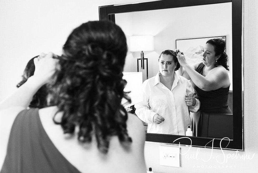 Hilton Garden Inn Foxborough Wedding Photography, Bridal Prep Photos