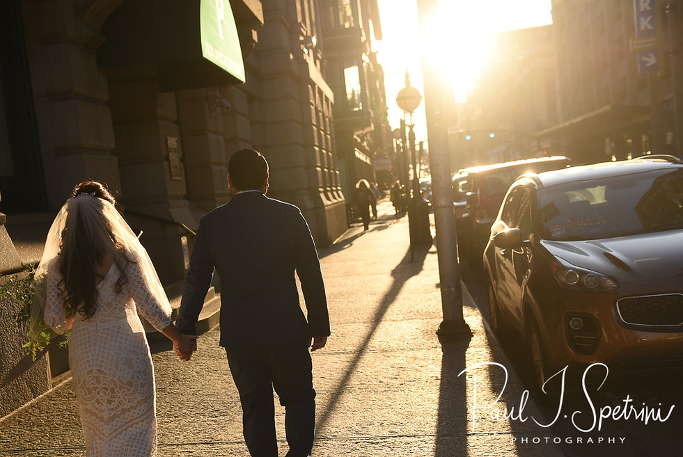 Providence City Hall Wedding Photography, Bride and Groom Formal Photos