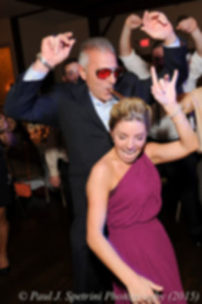 Guests dance during Emma and Mike's November 2015 wedding at the Publick House in Sturbridge, Massachusetts.