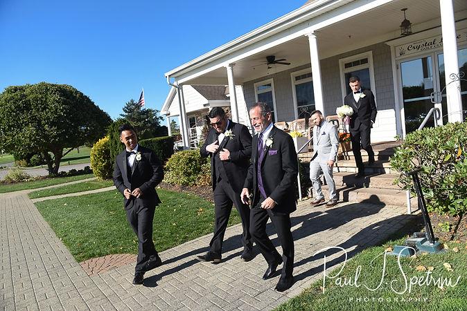 Crystal Lake Golf Club Wedding Photography, Groom Prep Photos