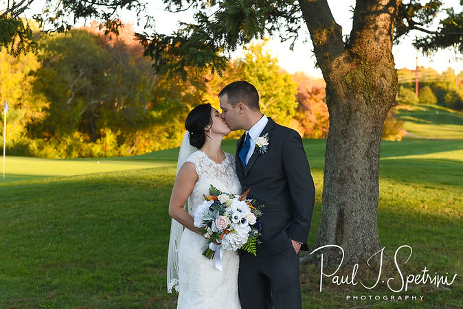 Cranston Country Club Wedding Photography, Bride and Groom Formal Photos