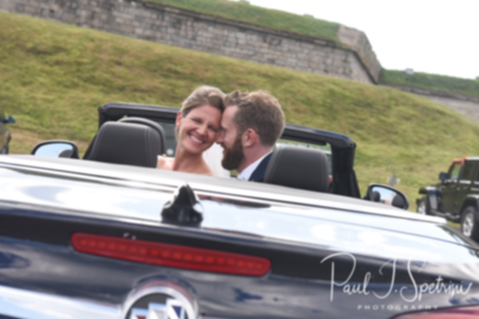 Fort Adams State Park wedding photos