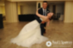 Dan and Simonne dancing during their June 2016 wedding in Providence, Rhode Island.