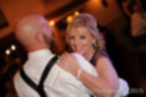 Mike and his mother dance during his November 2015 wedding at the Publick House in Sturbridge, Massachusetts.