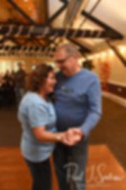 Amanda's parents dance during Amanda & Josh''s October 2018 wedding reception at Loon Pond Lodge in Lakeville, Massachusetts.