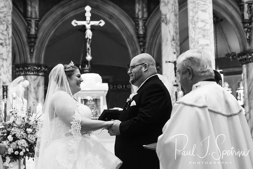 St. Mary's Parish Bristol Rhode Island Wedding Photography, Wedding Ceremony Photos