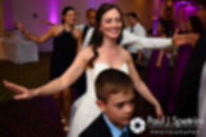 Alyssa dancers during her August 2016 wedding reception at LeBaron Hills Country Club in Lakeville, Massachusetts.
