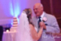 Sarah and her father dance during her October 2018 wedding reception at The Omni Hotel in Providence, Rhode Island.