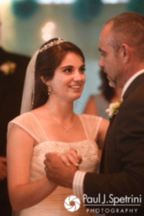 Gianna dances with her father during her July 2017 wedding reception at Quidnessett Country Club in North Kingstown, Rhode Island.