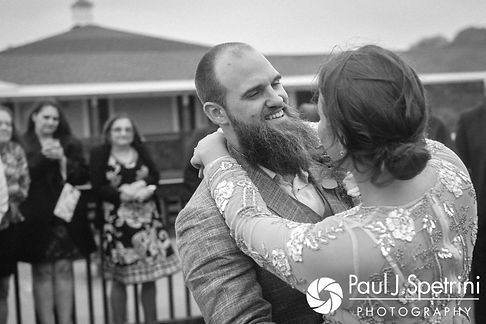 Arielle and Gary share their first dance as husband and wife during their September 2017 wedding reception at North Beach Club House in Narragansett, Rhode Island.