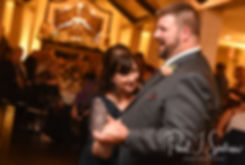 Steve and his mother dance during his October 2018 wedding reception at The Villa at Ridder Country Club in East Bridgewater, Massachusetts.