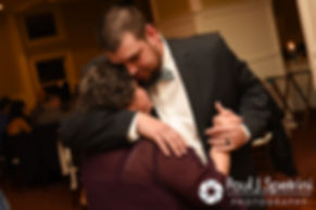 Brian dances with his mother during his November 2016 wedding reception at the Bay Pointe Club in Buzzards Bay, Massachusetts.