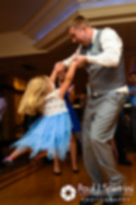 Neil dances during his July 2017 wedding reception at Quidnessett Country Club in North Kingstown, Rhode Island.