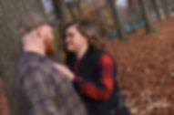 A teaser image for Alyson and Nick's engagement photo blog.