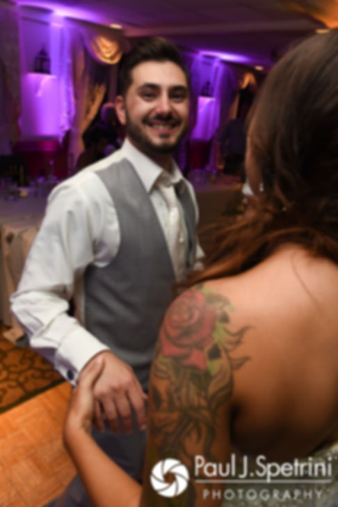 John and Stacey dance during their September 2017 wedding reception in Warren, Rhode Island.
