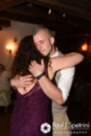 Ian and his mom dance during his May 2016 wedding reception at DeWolf Tavern in Bristol, Rhode Island.