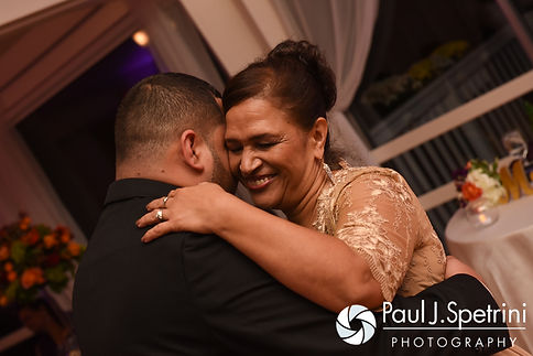 Henry and his mother dance during his October 2016 wedding reception at Lake Pearl Luciano's in Wrentham, Massachusetts.