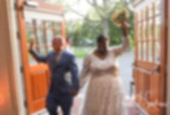 The Gardens at Elm Bank wedding receptio