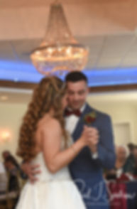 Pawtucket Country Club wedding reception