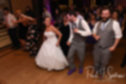 Sam and Katie dance during their April 2018 wedding reception at Quidnessett Country Club in North Kingstown, Rhode Island.
