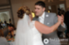 Angela and Shawn share their first dance at their spring 2016 Rhode Island wedding at the Hotel Viking in Newport, Rhode Island.
