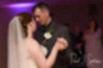 Nate & Kaytii dance during their May 2018 wedding reception at Meadowbrook Inn in Charlestown, Rhode Island.