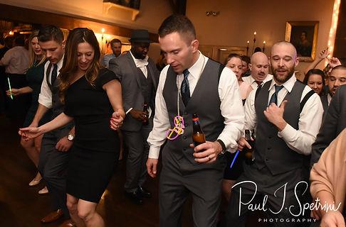 Kurt dances during his November 2018 wedding reception at the Publick House Historic Inn in Sturbridge, Massachusetts.